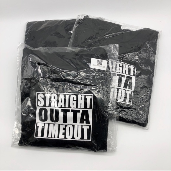 """Other - Size 4T """"STRAIGHT OUTTA TIMEOUT"""" hoodie"""